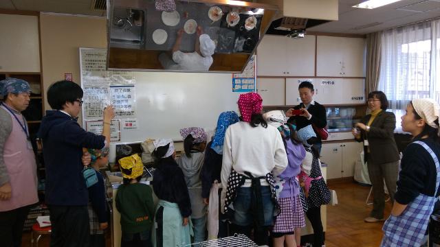 和菓子教室・実演3