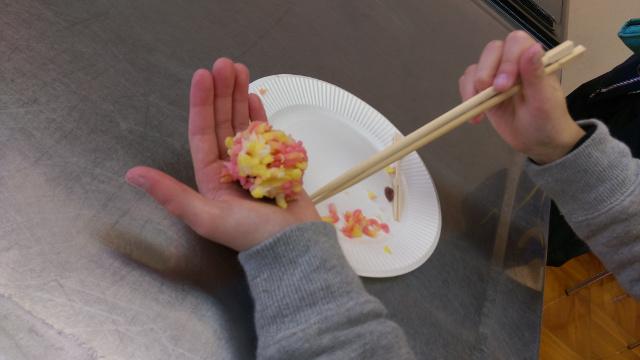 和菓子教室・実技2