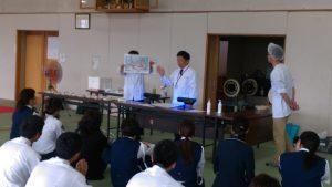 手洗い教室講義